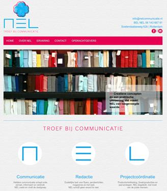 Homepage NEL communicatie