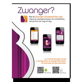 Advertentie zwanger.nl app