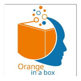 Logo Orange in a box