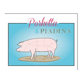 Logo Porketta & Piadina