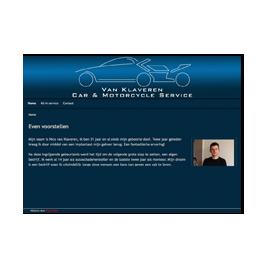 Website voor autobedrijf