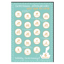 Aftelkalender Sinterklaas: opa en oma