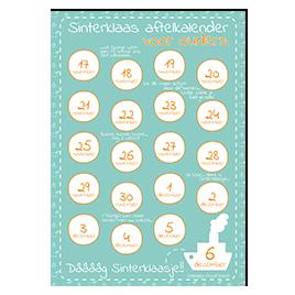 Aftelkalender Sinterklaas: ouders!