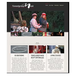 Website Toneelgroep Mask