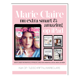 Advertentiepagina Marie Claire