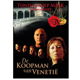 Poster De Koopman van Venetië