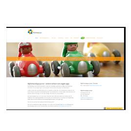 Website MySchoolApp Junior