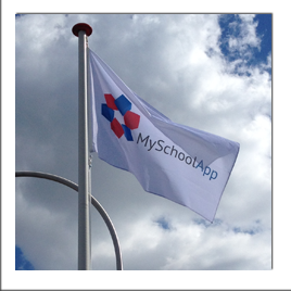 Vlag voor MySchoolApp