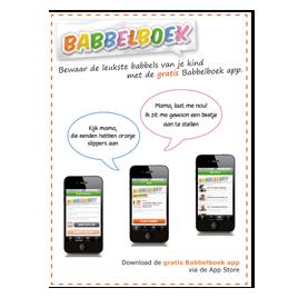 Advertentie Babbelboek-app