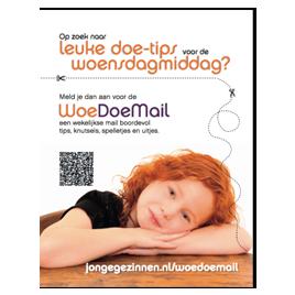 Advertentie Woedoemail