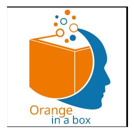 Logo Orange in a box