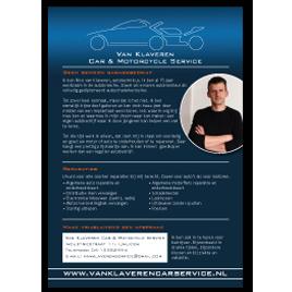 Flyer Van Klaveren Car & Motorcycleservice