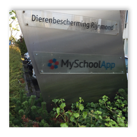 Stickers kantoor MySchoolApp