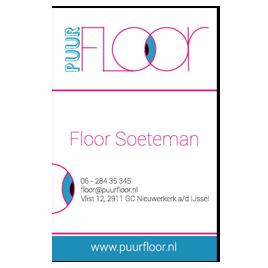 Visitekaartje Puur Floor