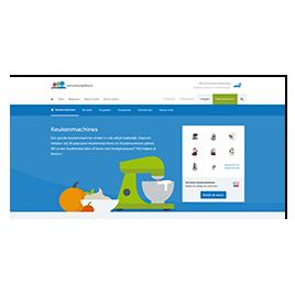 Consumentenbond: nieuw beeldconcept website